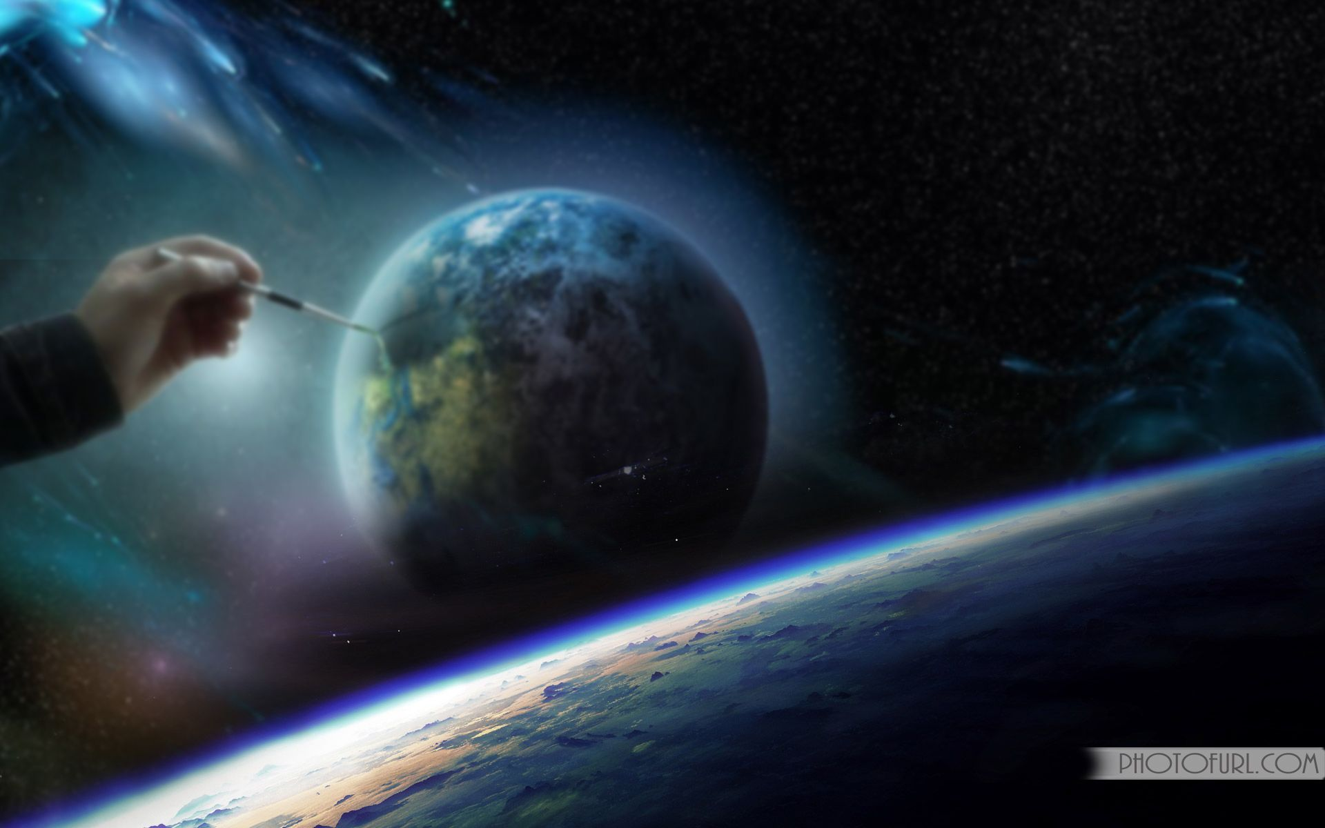 Space Travel Animated Wallpaper