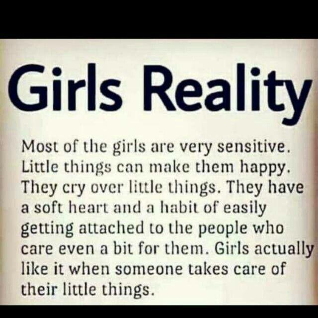 I am also sensitive girl   FEELINGS   Girl facts, Teenager