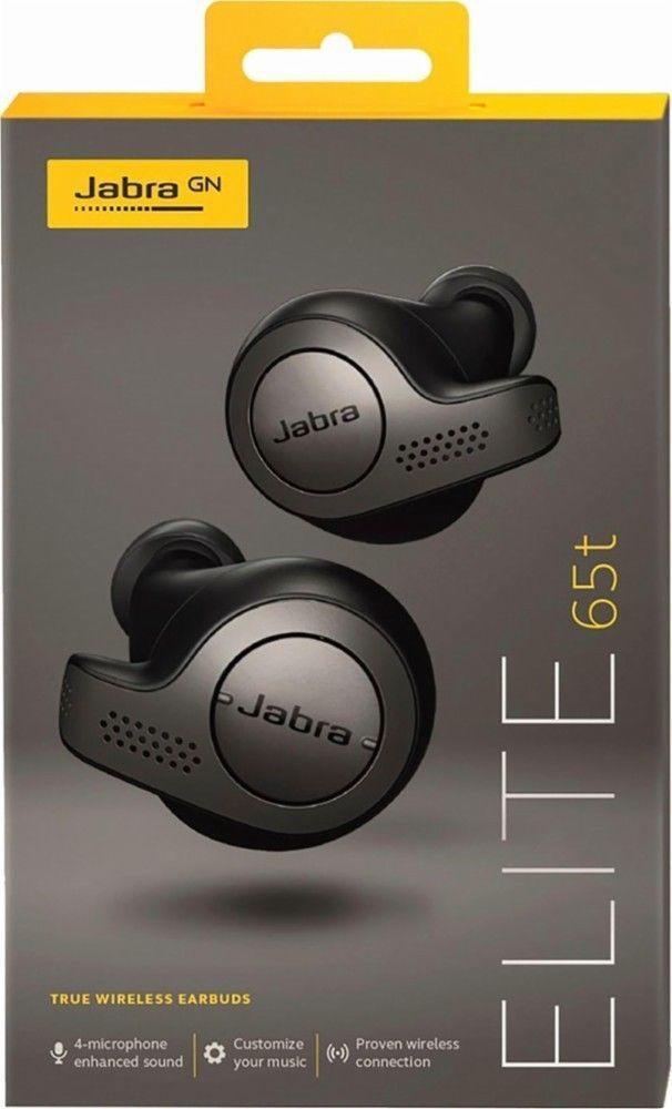 0fdd24441a1 eBay #Sponsored Jabra Elite 65T True Wireless BLUETOOTH Earbuds Titanium  Black WARRANTY NEW FAST