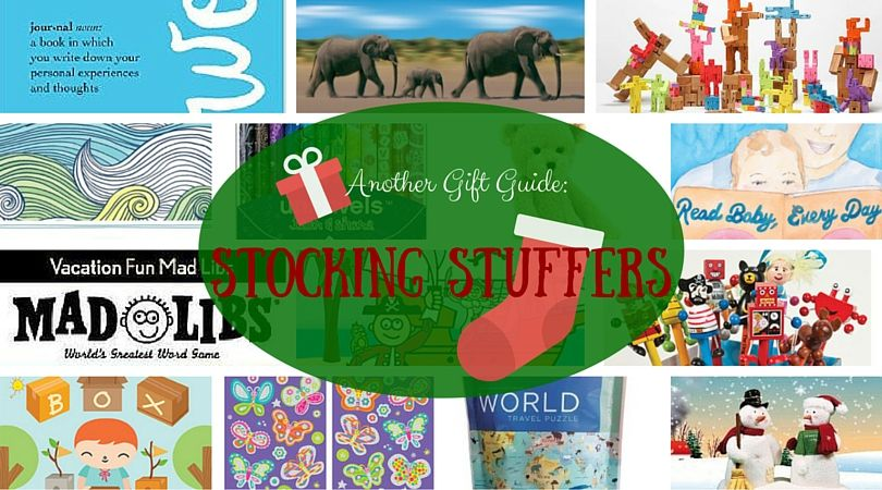 Your guide to the perfect stocking stuffers. Don't be afraid to get creative! | blue manatee book blog