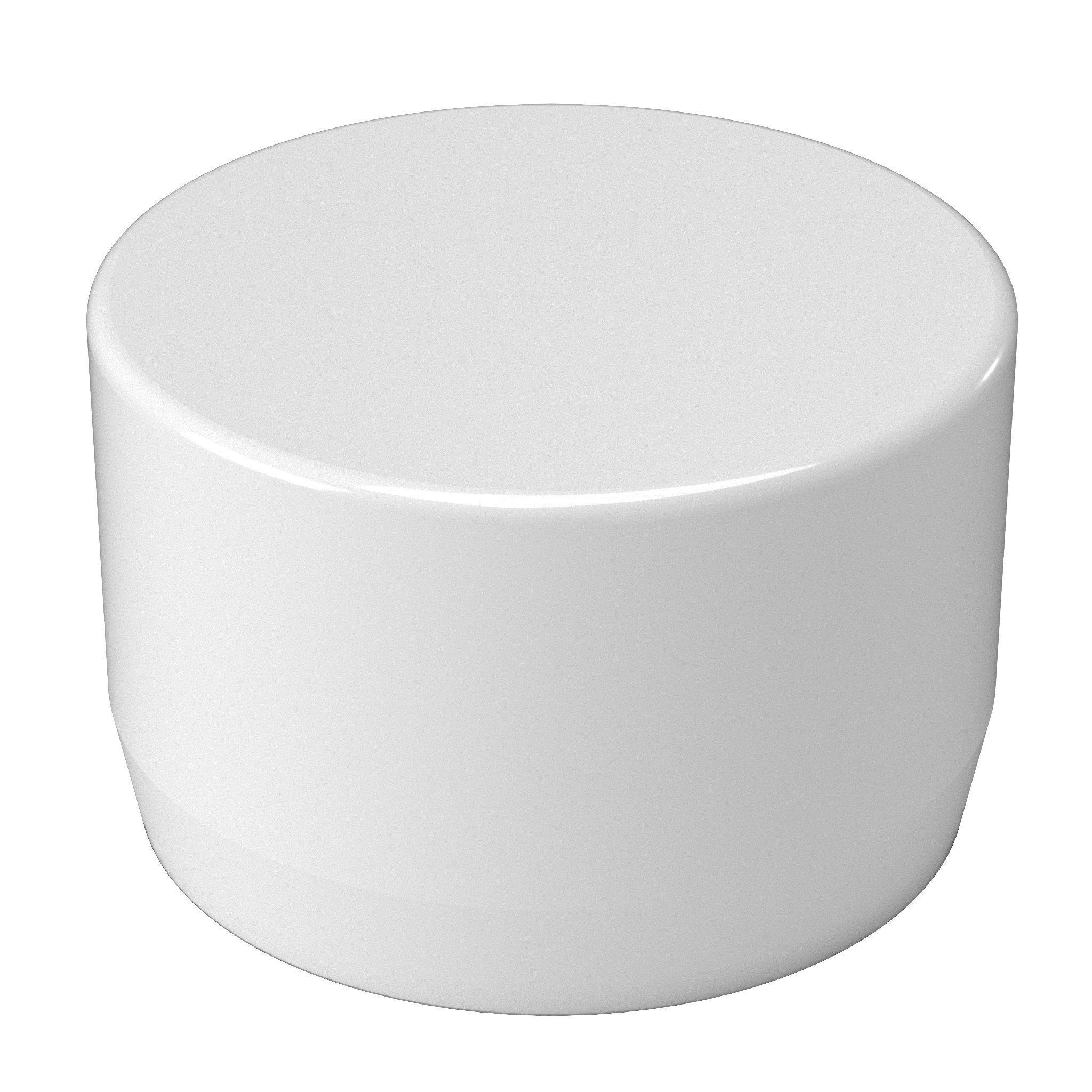2 External PVC Flat End Cap