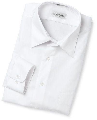 Van Heusen Men S Wrinkle Free Lux Sateen Long Sleeve Shirt Shirts Shirt Dress