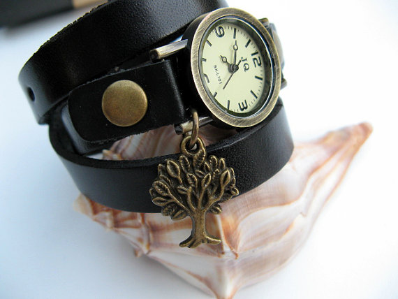 Sale Tree Lovers Wrap Watch Wrap Around by ArtInspiredGifts