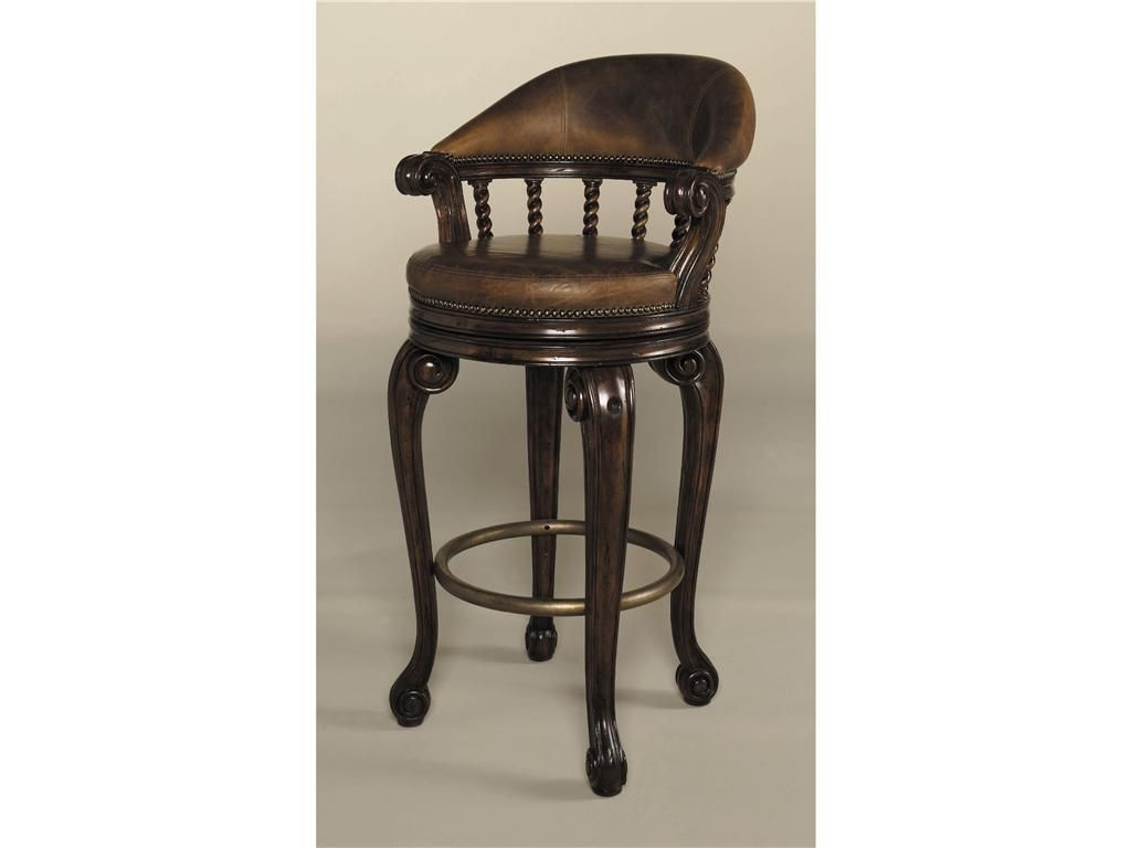 Maitland Smith Bar And Game Room Bar Stool 4230 226   Kathy Adams Interiors