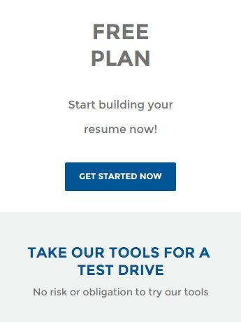 Free Resumes Plan-The Resume Builder -No risk or obligation -Try - got free resume builder