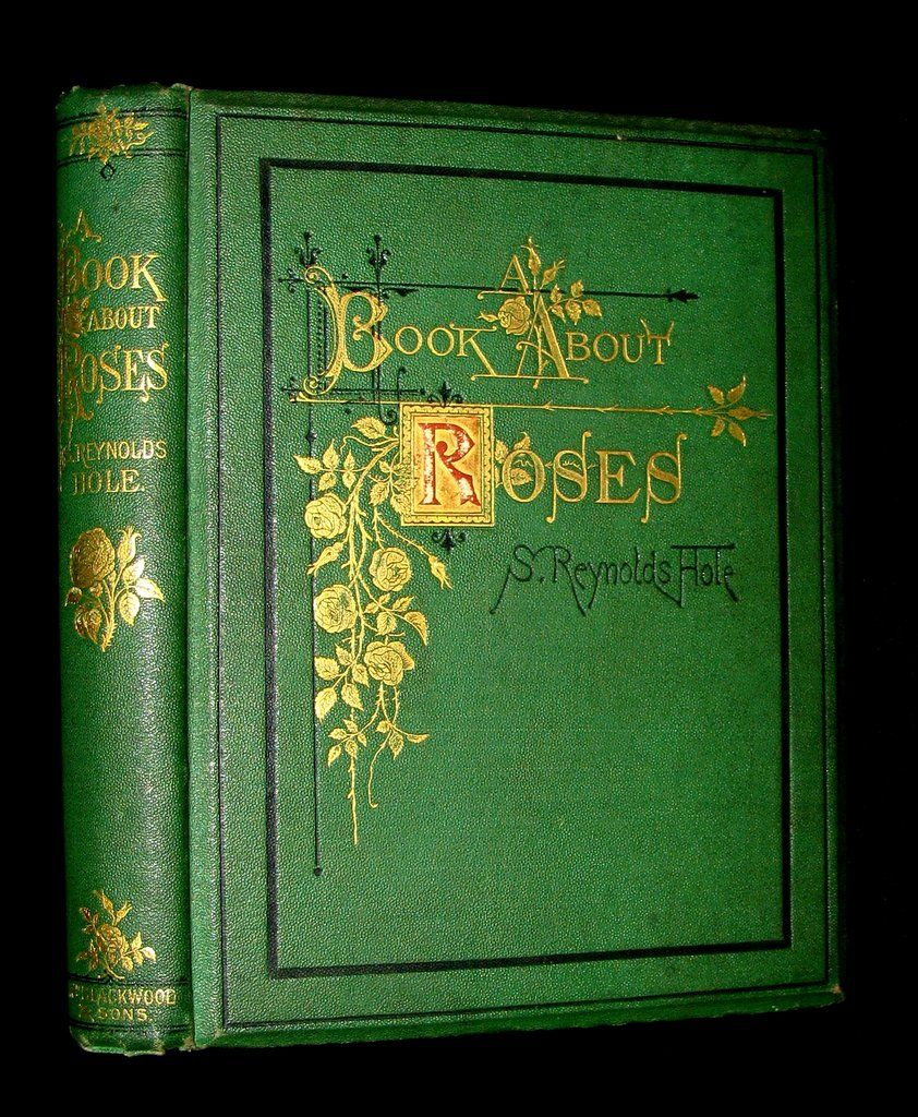 1870 Rare Victorian Gardening Book A Book About Roses How To