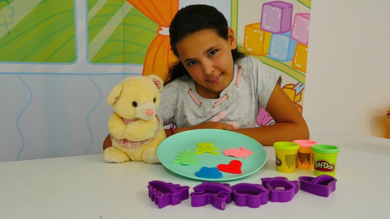 Kardelen Play Doh La Oynuyor Kurabiye Yapma Oyunu Oyun Hamuru Ve Oyuncak Sekiller Play Doh Oyun Hamuru Oyun