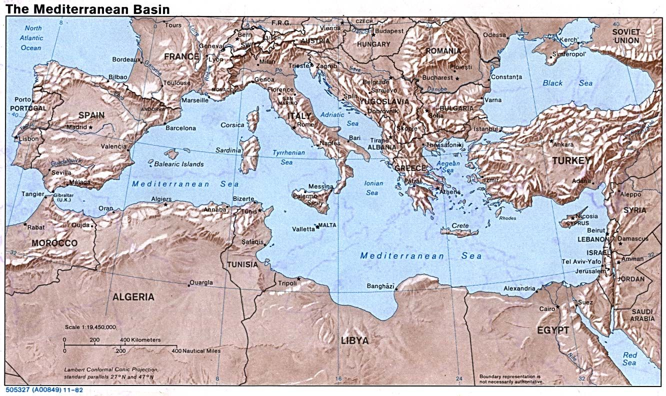 Outline map of mediterranean world map europe maps perry outline map of mediterranean world map europe maps perry castaeda map collection gumiabroncs Images