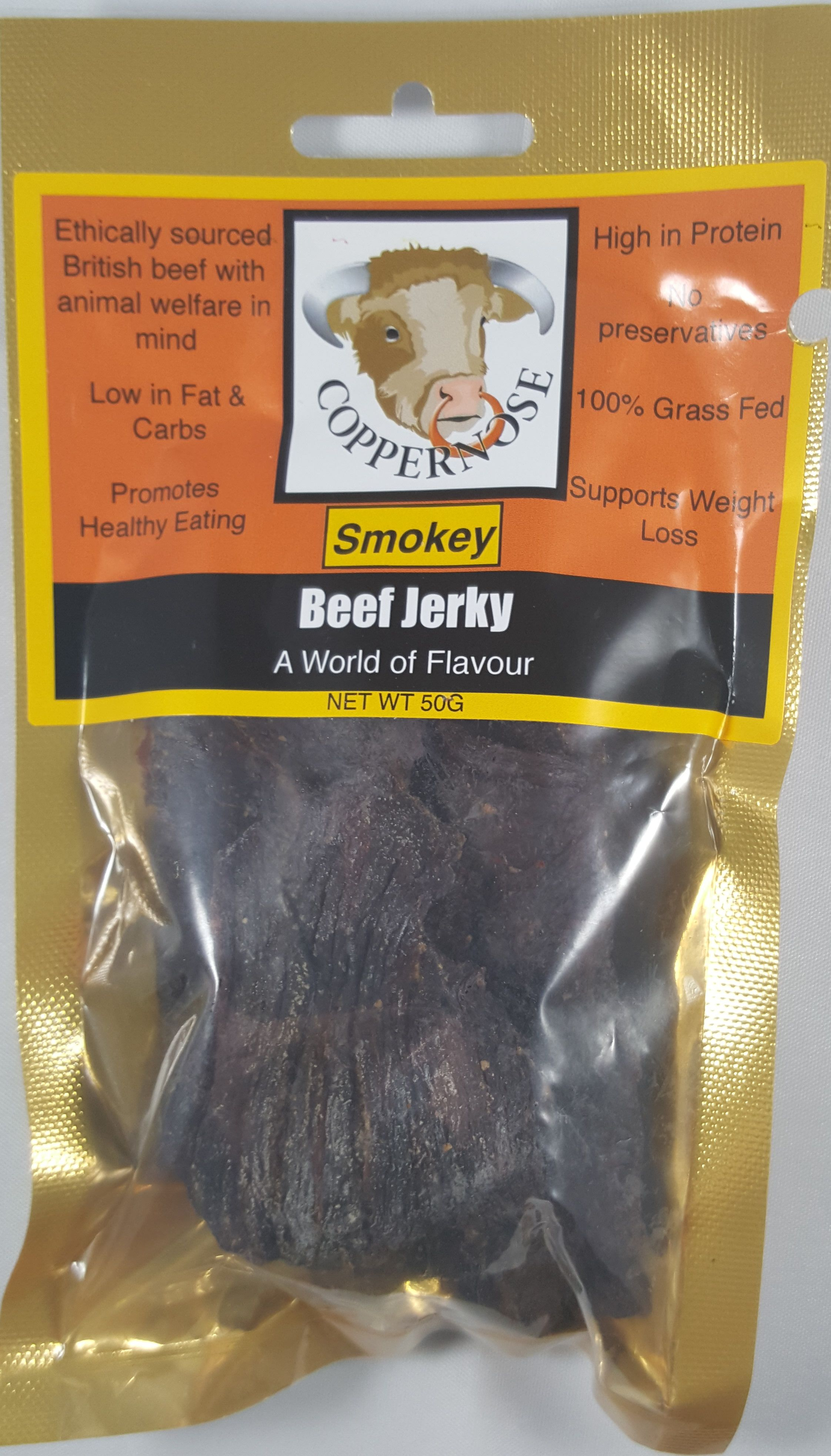 Coppernose Smokey 100 Grass Fed Beef Jerky Review Http Jerkyingredients Com 2016 09 10 Coppernose Smokey 1 Beef Jerky Grass Fed Beef Grass Fed Beef Jerky