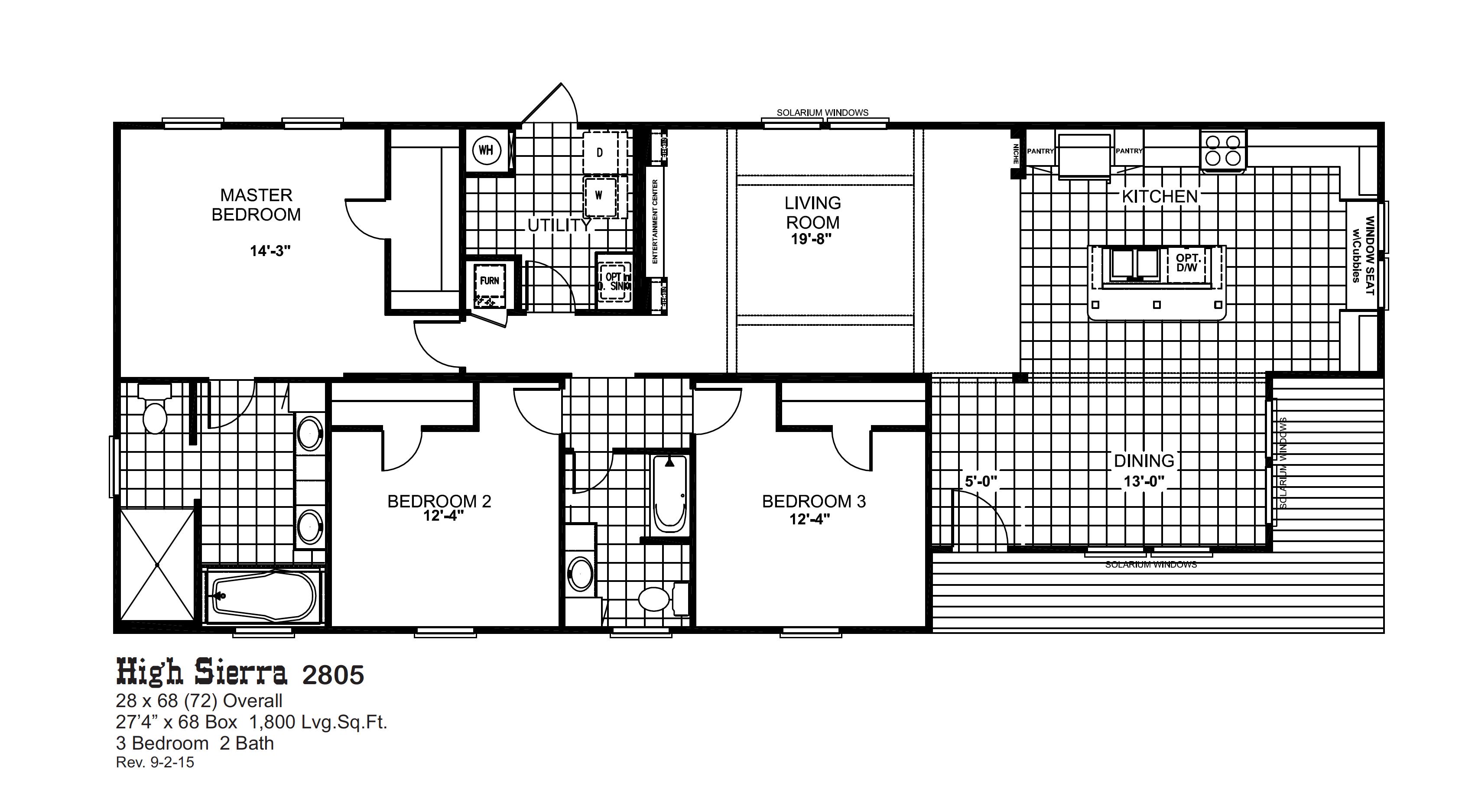 Floorplans Oak Creek Homes Oak Creek Homes House Floor Plans Floor Plans