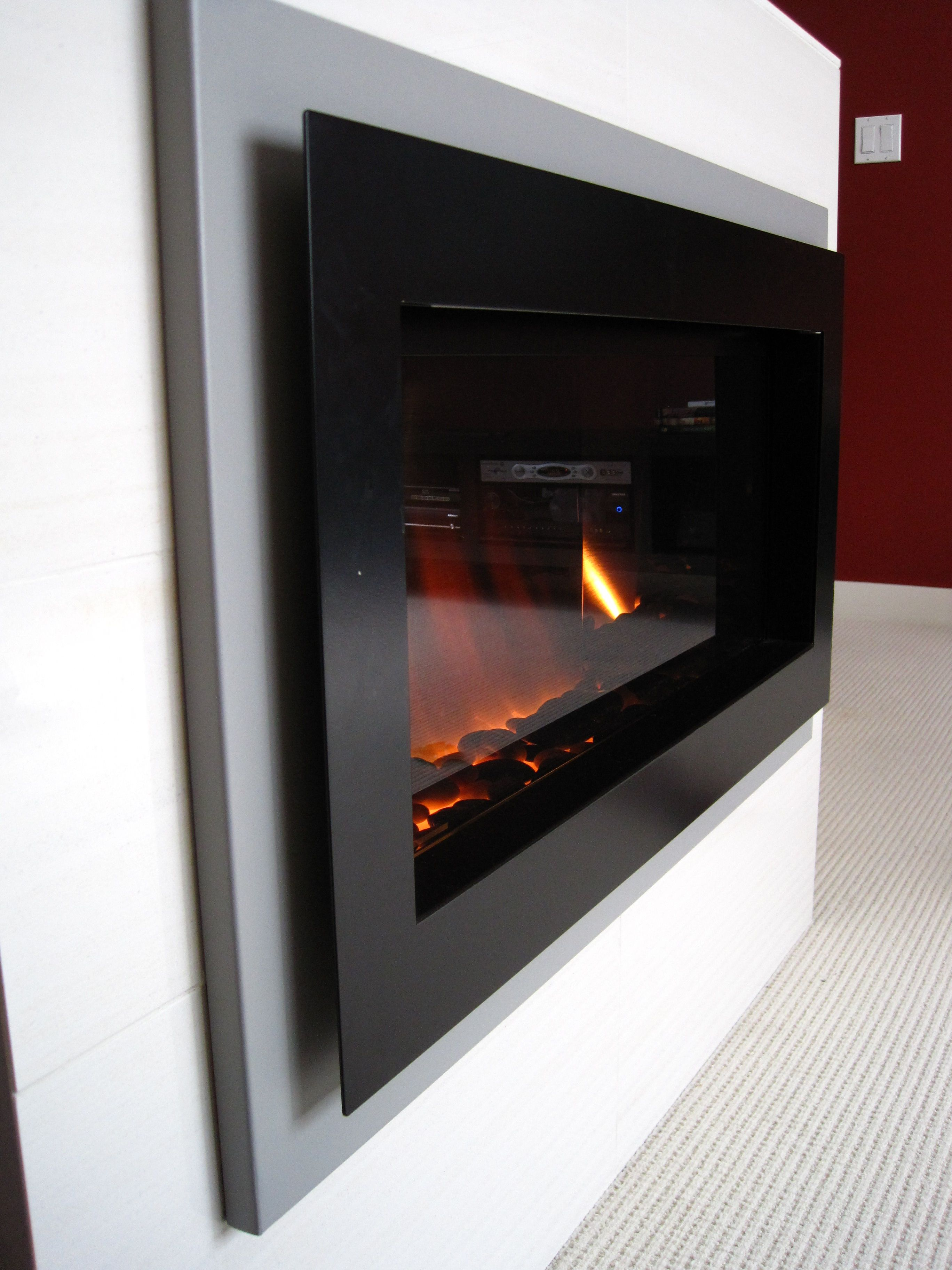 electric fireplaces   ...  Modern Electric Fireplace ...