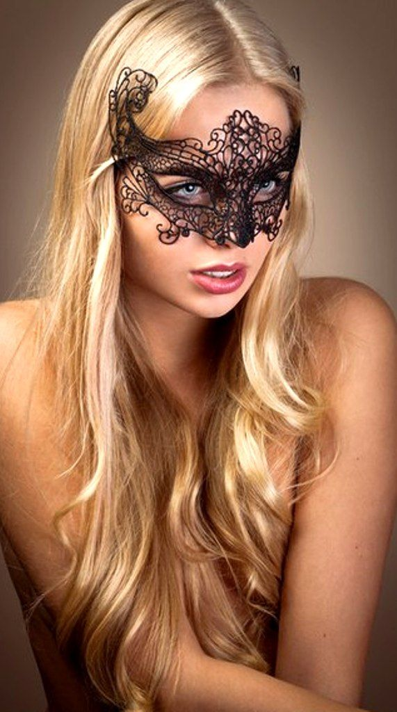 Beautiful Black Macrame Lace Mask Get yours at http://stores.venicebuysmasks.com/black-macrame-crown-colombina-venetian-masquerade-mask-sku-041mb/