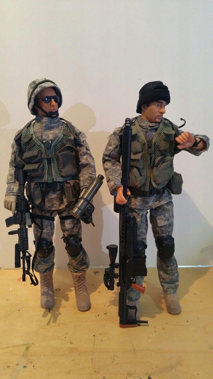 Ultimate Soldier US 75th Ranger Recon MOC GI Joe