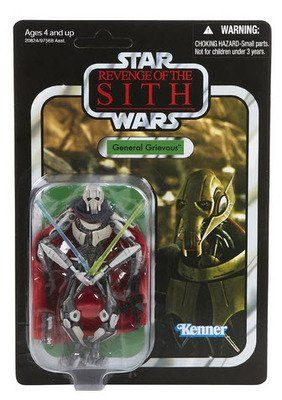 Star Wars General Grievous With Cape 375 Inch Vintage Figure Continue To The Product At The Image Link Star Wars Figurines Star Wars Toys Star Wars Figures