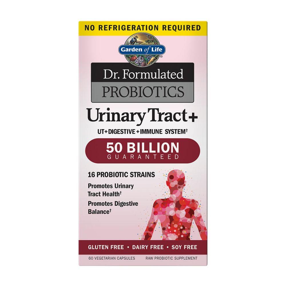 Garden Of Life Dr Formulated Urinary Tract Probiotics 60 Vcaps Women S Health Probiotics Probiotics Natural Supplements Vitamins Supplements Pharm