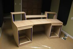 Although This Desk Was Designed For A Small Music Studio It Could Be Reworked Just Slightly