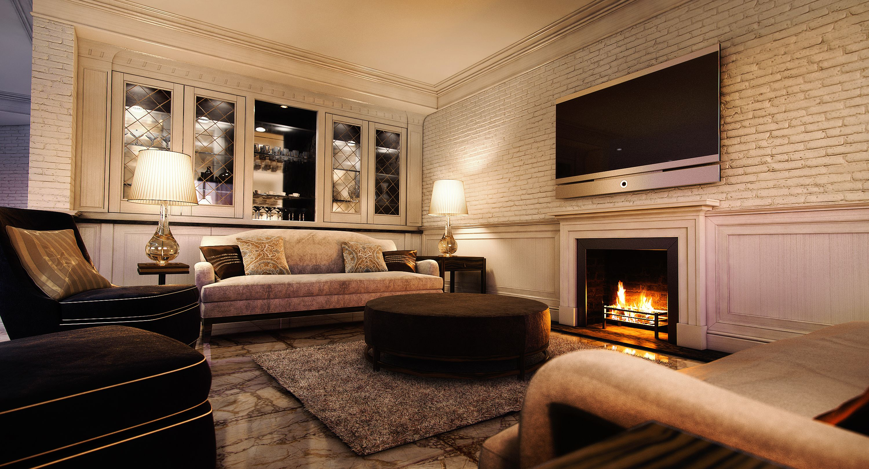 Luxury Interior Luxury Interior Cgi  Wainscoting Panels White Brick Walls And Luxury