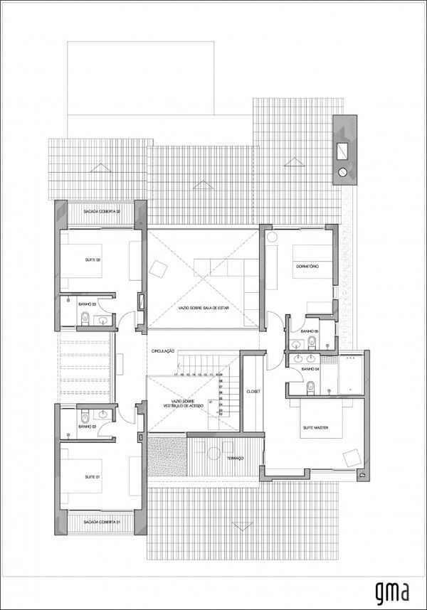 Brazil Casa Second Floor New House Plans and Looks