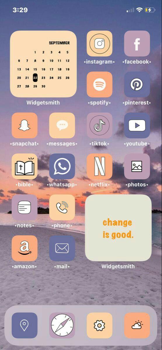 How To Make Aesthetic App Icons Ios 14 Aesthetic Homescreen Customization Iphone Ios App Iphone Iphone Wallpaper App Iphone Hacks