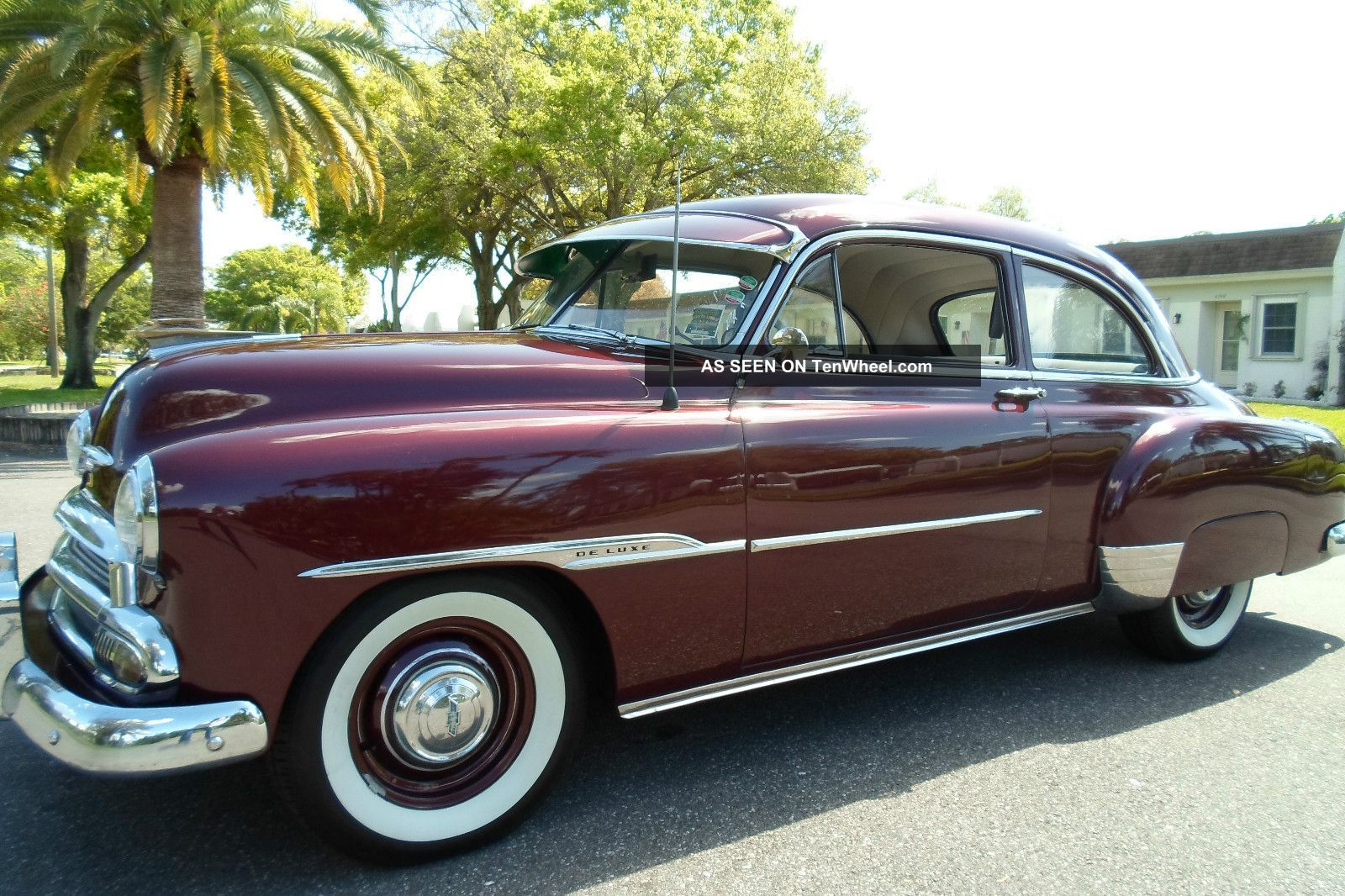 1951 Chevy Cars Chevrolet Deluxe Showcar Show Car Convertible Classic Other Photo