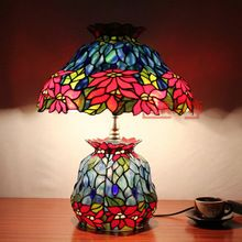 Fashion vintage TIFFANY multicolour glass picture lights lourie(China (Mainland))