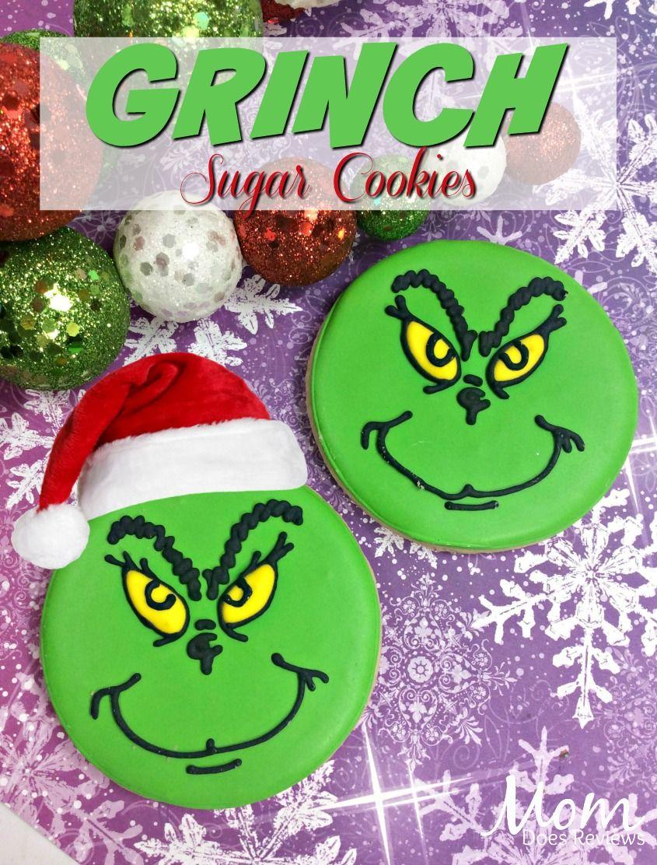Grinch Sugar Cookies Thegrinch Christmas Grinch Cookies