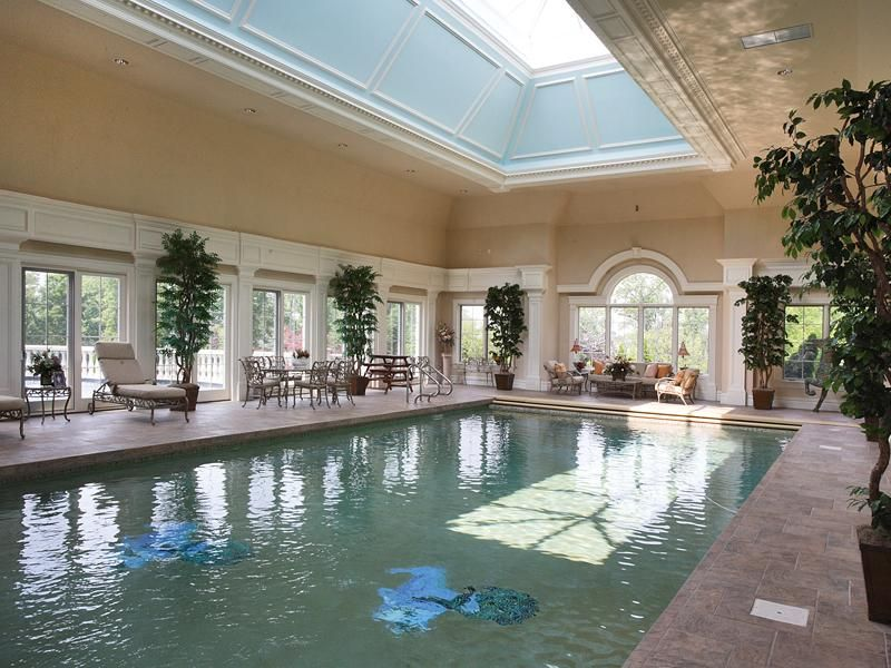 Luxury Home In New Jersey Alpine With Images Dream Pool Indoor