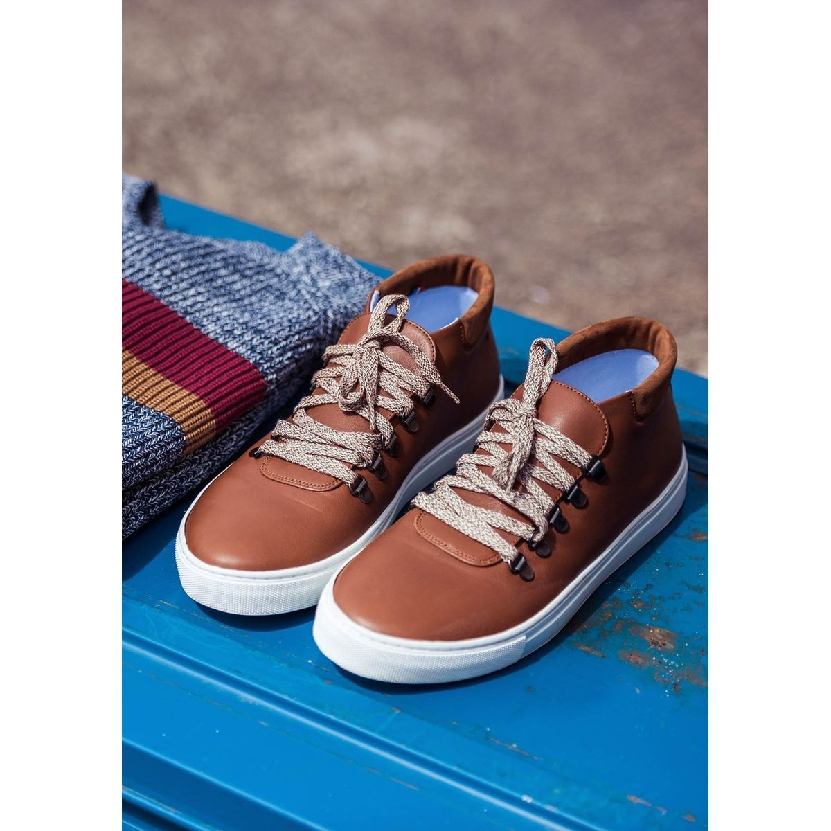Montantes Cuir Baskets Made In En France Montpaul 2019Products EDH9I2