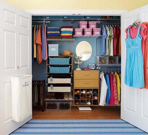 Ordinaire Simple Closet Designs