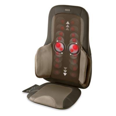 Homedics Air Compression And Shiatsu Massage Cushion Bedbathandbeyond Com Massage Acupressure Treatment Reflexology Massage