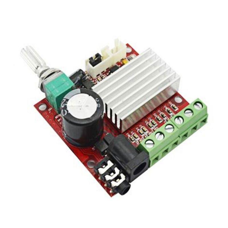 30w mini high power 2 1 channel digital audio amplifier board red audio de autom viles audio. Black Bedroom Furniture Sets. Home Design Ideas