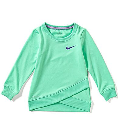 ebf98eae13 Nike Little Girls 2T6X DriFIT Sport Essentials Crossover Tunic #Dillards