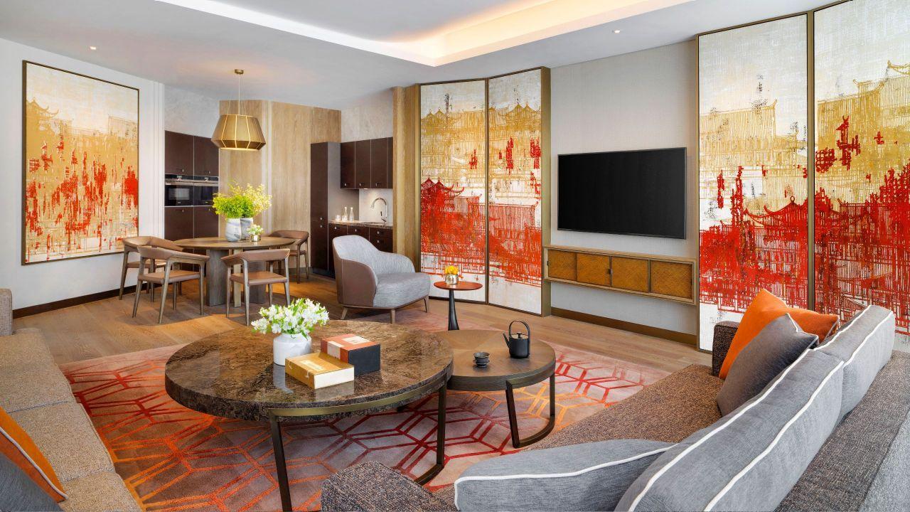 Executive Suite Living Room Grand hyatt, Hyatt, Room