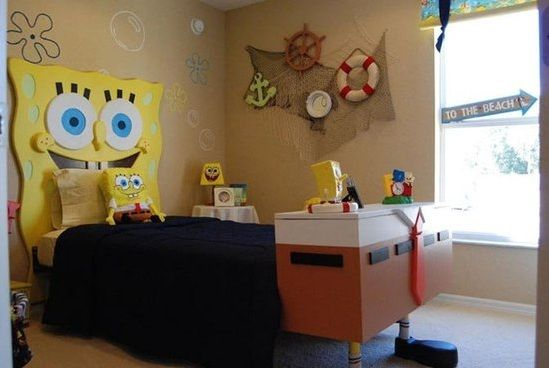 Spongebob Kids Bedroom Decorations