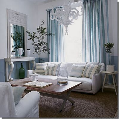 Nassima Home: Salon de style français Aqua! | Living room ...