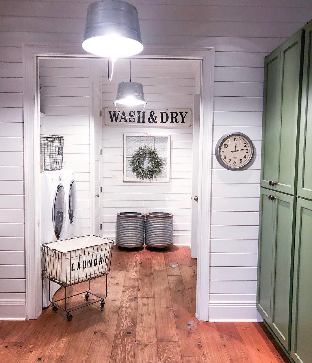 "ANTIQUE FARMHOUSE on Instagram: ""# @bigfamilylittlefarmhouse Does your Saturday include loads of laundry"
