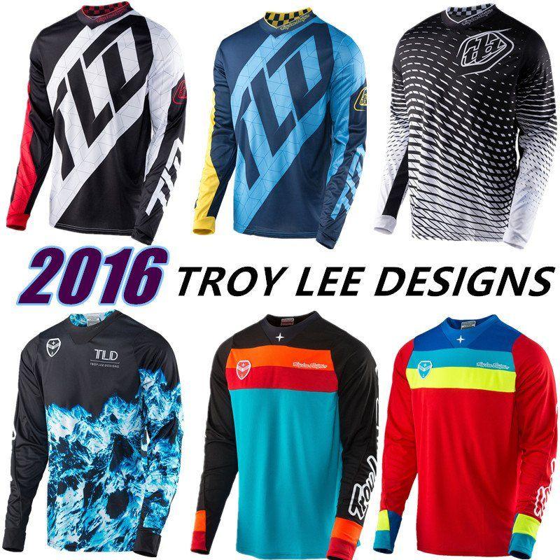 2017 TLD Motocross Jersey  276cc4138