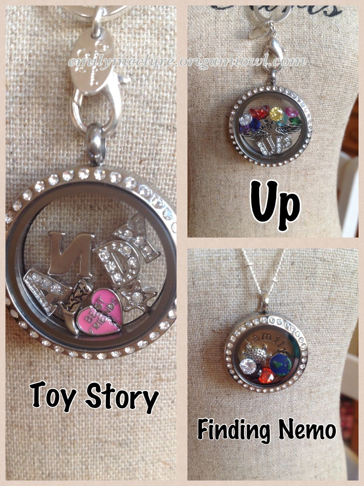 Disney Pixar-inspired Origami Owl - Origami Owl Living ... - photo#39