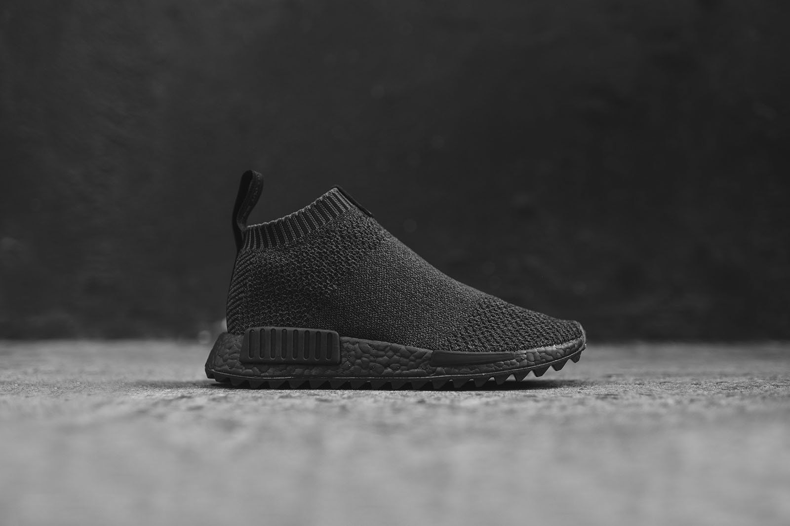 san francisco 4663c e9682 adidas Consortium x The Good Will Out NMD CS1 - Triple Black ...