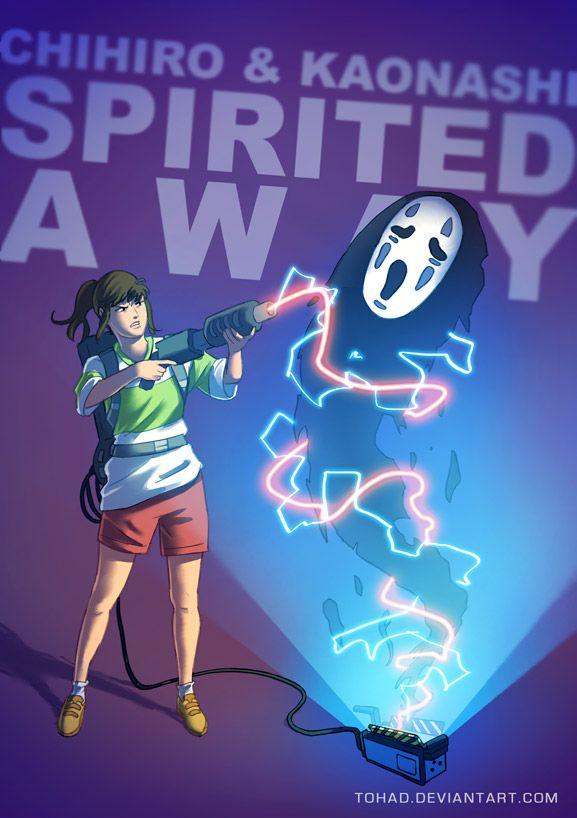 Spirited Away BADASS by Tohad on deviantART