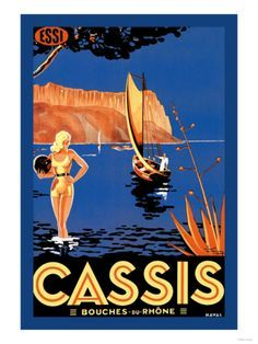 cassis poster - Google Search