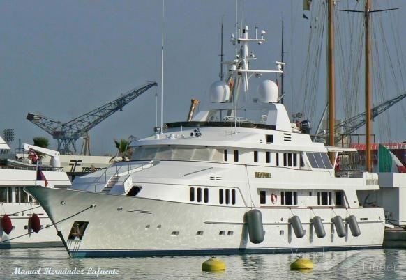 INEVITABLE, type:Yacht, built:1990, GT:478, http://www.vesselfinder.com/vessels/INEVITABLE-IMO-1002782-MMSI-319482000