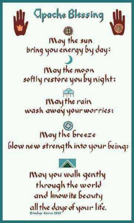 °Apache Blessing                                                                                                                                                      More