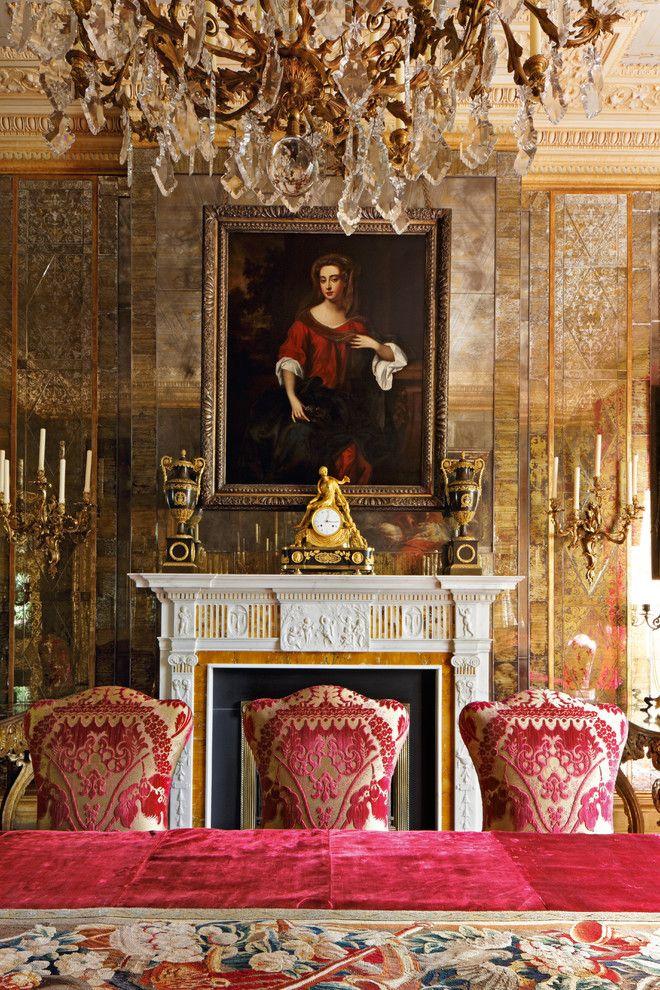 Traditional dining room estilo barroco ingl s la mia - Estilo ingles decoracion interiores ...