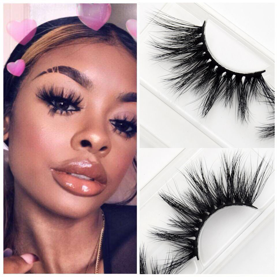 165ba04b4ff Mink Eyelashes Criss-cross Strands Alluring and glamorous. These false  eyelashes start off with