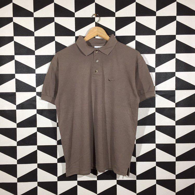 Vintage 90s Nike Polo Shirt Nike Polo Tees Nike T Shirt Etsy Nike Polo Shirts Polo Shirt Nike Polo