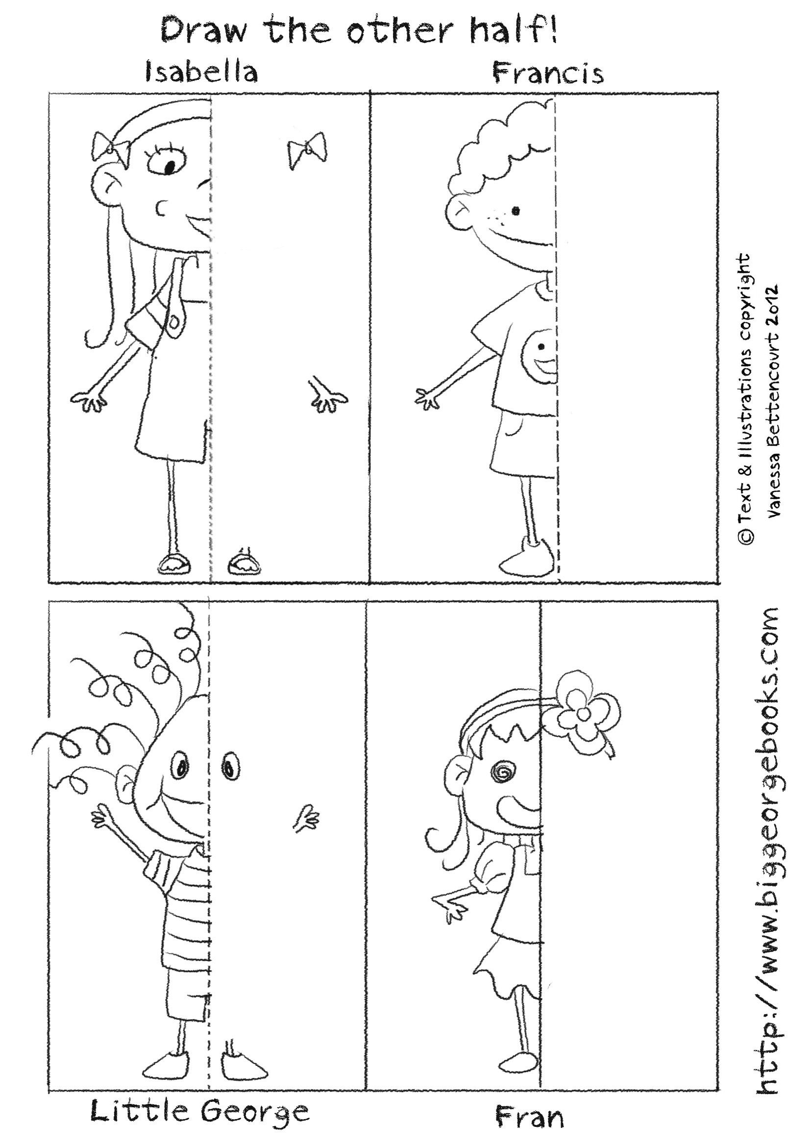worksheet Draw The Other Half Of The Picture Worksheet draw the other half download file from official site big free worksheets