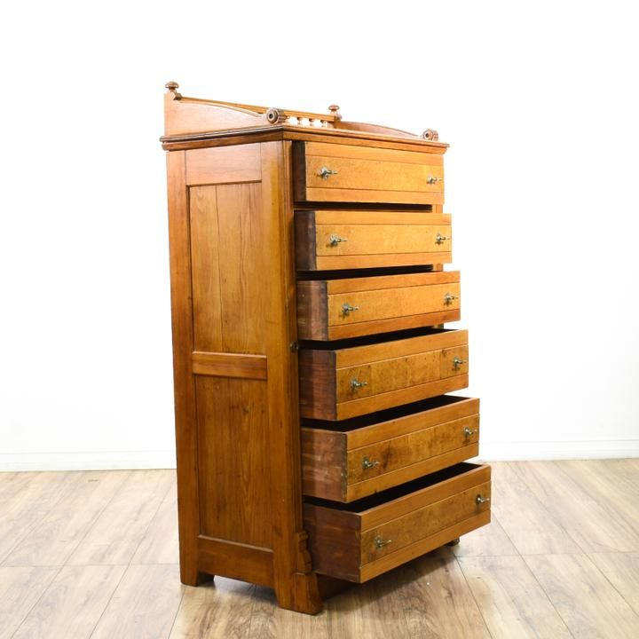 Best Used Mid Century Painted Tall Dresser For Sale In San 640 x 480