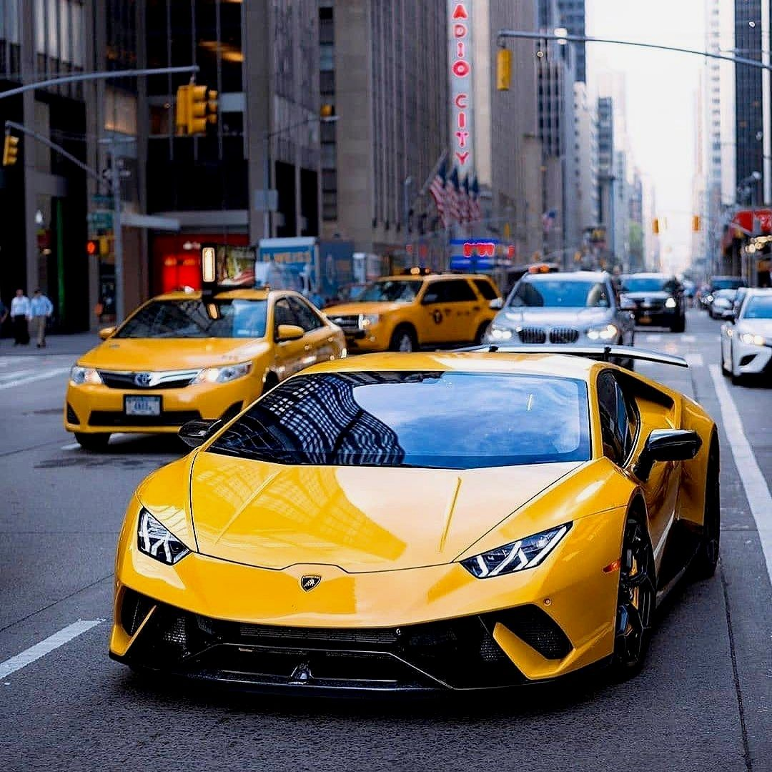What You Think About New Lambo Taxi Enough Yellow Lamborghini Or