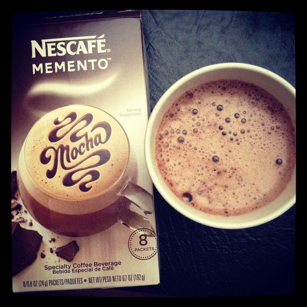 nescafe memento mocha. Would be really cute as part of coffee bar. #GotItFree